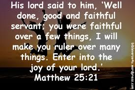 Image result for Matthew 25:21