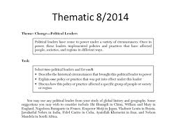 global history thematic essay global history thematic essay political systems