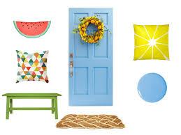 hgtv front door sweepstakes9 Easy Spring Door Decorations  HGTVs Decorating  Design Blog