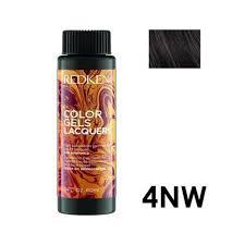 Redken Color Gels Lacquers Color Chart 3 X Redken Color Gels Lacquers Haircolor 4nw Maple Hair Color 60ml