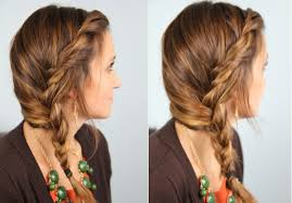 Quick Hairstyles For Braids Subtle Twist Into Side Braid Cute Girls Hairstyles