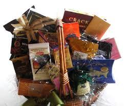 sympathy condolance gift basket customized