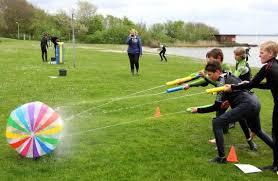 outdoor water games for kids. Beach Ball Blaster Water Game Outdoor Games For Kids L