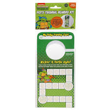 Ninja Turtle Potty Training Chart Nickelodeon Tmnt Door Hang Version Potty Rewards Kit
