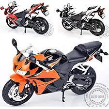 1 10 children motor moto cycle cbr 600rr cast motorbike alloy metal models servo toys