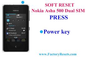 How To Hard Reset Nokia Asha 500 Dual SIM