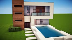 simple modern house. Brilliant Simple Minecraft Simple U0026 Easy Modern House Tutorial  How To Build  19  YouTube With E