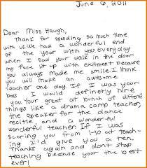 Thank You Letter For Student Teacher 9 Blank Invoice