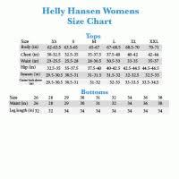 Hh Size Chart Helly Hansen Zinober Womens