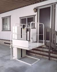 wheelchair lift for home. Plain Home The RIGHT Wheelchair Elevator Vertical Platform Porch Mobile Home Lift With For