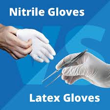 Nitrile Gloves Vs Latex Gloves Blue Thunder Technologies