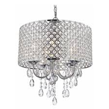 chandeliers and pendant lighting. Crystal Chrome Chandelier Pendant Light With Beaded Drum Shade Ceiling Fixtures Amazoncom Chandeliers And Lighting
