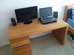 ikea malm desk white