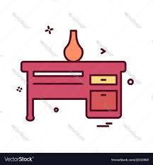 Icon Design Furniture Furniture Icon Design Vector Image On Vectorstock