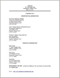 ... Sample Resume Reference Page References On Regarding Reference. doc ...