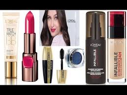 top 10 best l oreal makeup s in india with