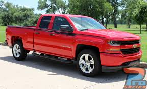 Chevy Silverado Body Door Stripe Vinyl Graphic Decal | ACCELERATOR