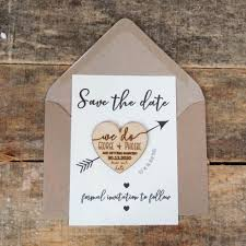 wooden save the date magnets wooden magnets save the dates wedding invitation rustic wedding