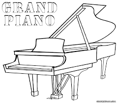 Small Picture Piano Coloring Pages To Download And Print For diaetme