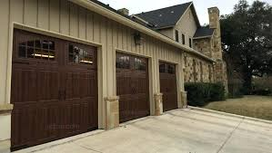 walnut garage doors amazing faux wood