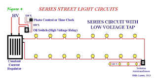 understanding series street light systems since series circuits were basically one great loop of lamps technology had to be developed to prevent the string from going dark if a lamp failed