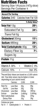 mystic pizza cheese nutrition facts