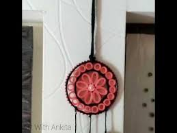 Dream Catchers For Your Car Diy dream catcher car hanging paper quilling YouTube 79