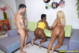 Big ass ebony orgy