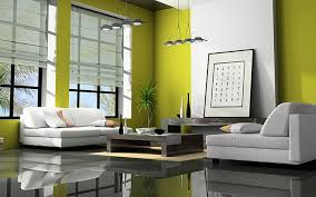 Living Room:Nice Yellow Living Room With Yellow Wall Paint And Brown  Sectional Sofa Amazing