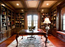 Traditional and Vintage Home Office Interior Design Ideas Home And