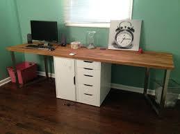 wood home office desks small. Small White Office Desk Oak Wood Study Furniture Dark Corner Home Desks F