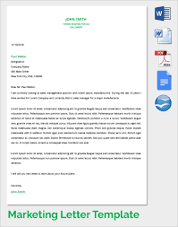 District Sales Manager Cover Letter Marketing Cover Letter 7 Samples Examples Format