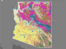 arizona habitats the arizona experience landscapes, people Map Northeastern Arizona explore arizona's biomes and locate your favorite native plants with the interactive biotic communities map map northeast arizona