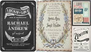 Vintage Wedding Invitation 21 Fabulous Vintage Wedding Invitations