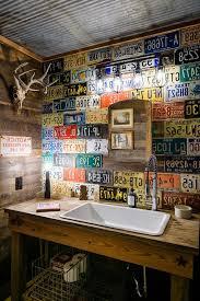 man cave bathroom. Perfect Bathroom Man Cave Bathroom Powder Room Eclectic With Vintage Sink Mounted Towel Bars Throughout Man Cave Bathroom