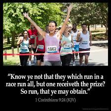 1 Corinthians 9:24 Inspirational Image