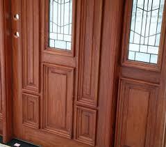 glass wooden door 02