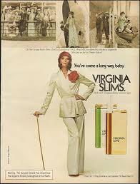 1974-Viriginia Slims Cigarettes`Avis McCoy Staten Island-Vintage Ad | eBay