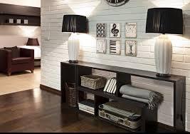 Painted Brick Wall Interior Design Neutral White Brick Wall White Brick Wall Living Room
