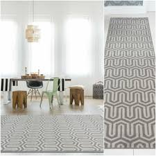 grey silver best designer art deco boutique runner chevron pattern geometric rug