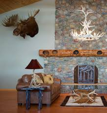 white elk antler chandeliers from new west furniture