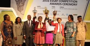 res essay competition ifeoluwa abiodun emerges winner of the nse  ifeoluwa abiodun emerges winner of the nse essay competition 2016 nse essay competition award pix b
