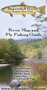 Beaverkill River Roscoe Ny River Map And Fly Fishing Guide By Fishwater Maps