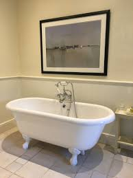 Champagne Bathroom Suite Tims Birthday At The Slaughters Manor House The Cotswolds Got