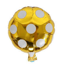 helium balloon dot large aluminum foil balloons inflatable gift childrens birthday baloon party decoration ball 10 inch