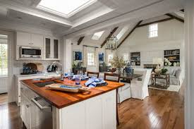 Hgtv Kitchen Designs 2015 Stunning White Kitchen With Open Living Space Hgtv