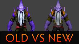 dota 2 old vs new dark seer texture youtube