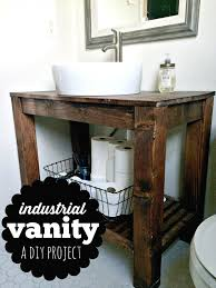 rustic pine bathroom vanities. Pottery Barn Makeup Vanity Rustic Farmhouse Bathroom In Pine Vanities
