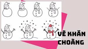Học vẽ người tuyết vui tươi - Hướng dẫn bởi Jolla.vn