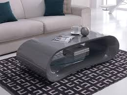 gloss grey with white coffee table outstanding curved